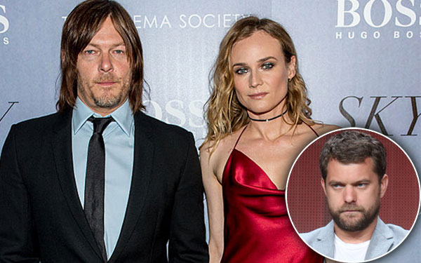 Diane Kruger Norman Reedus Cheating Scandal Sky Premiere Pics 6