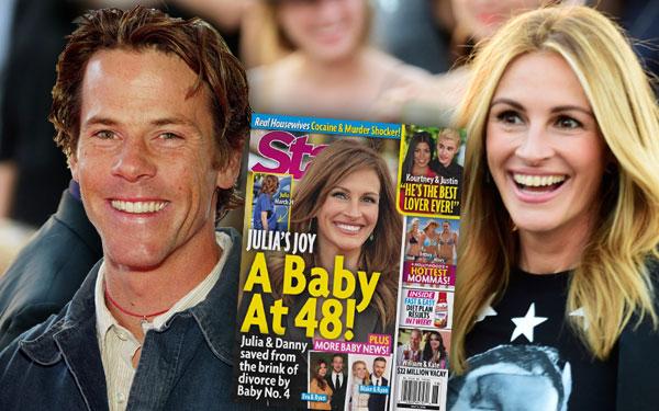 Julia Roberts Pregnant Baby Divorce Husband Rumors 1