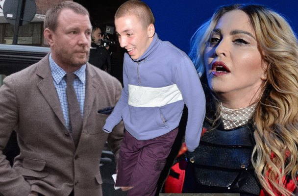 madonna guy ritchie custody battle rocco ritchie compromise