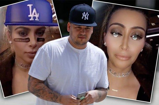 rob kardashian kim kardashian engagement quickie wedding snapchat