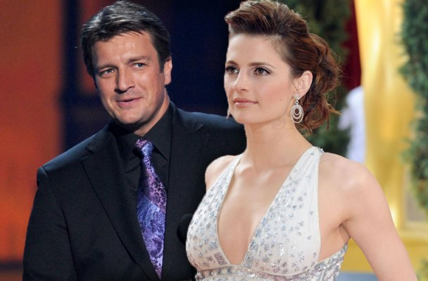 stana katic quits castle nathan fillion feud