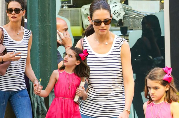 Suri Cruise Birthday Tantrum Dad Tom Mom Katie Holmes