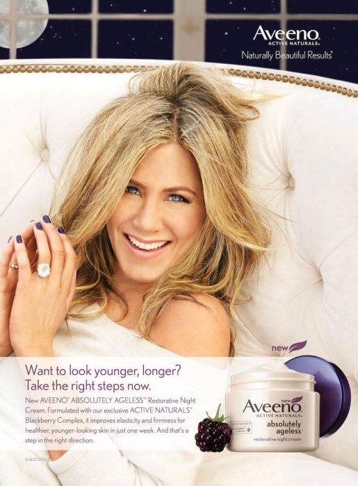 Jennifer-Aniston---Aveeno