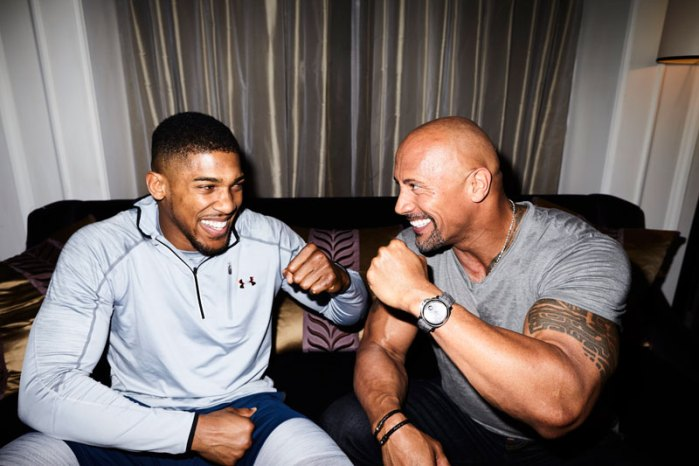 """Under-Armour---Anthony-Joshua-and-Dwayne""""-The-Rock""""-Johnson"""