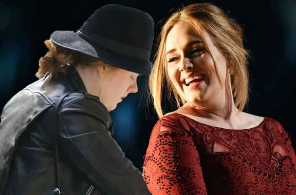 adele no make up shopping son angelo weight loss pics