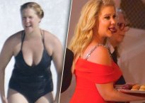 amy schumer bathing suit body beach pics
