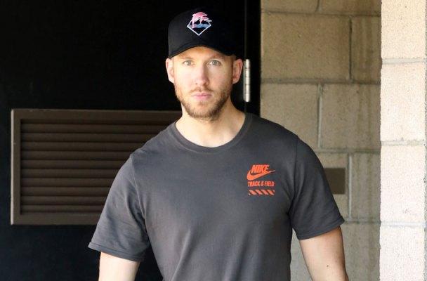 calvin harris car crash leaves hospital no private room
