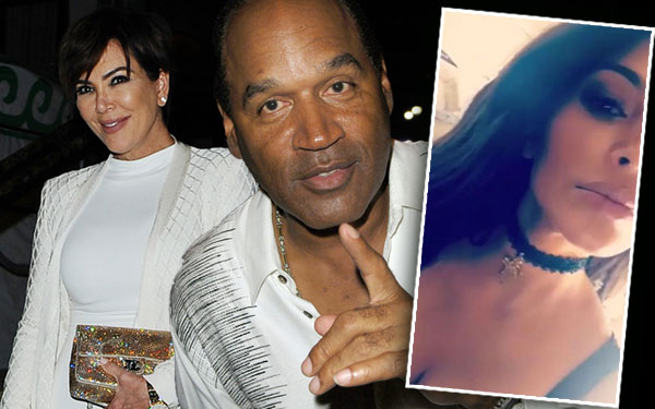Kim Kardashian Nicole Brown Simpson Necklace Kris Jenner Affair Affair OJ Simpson 10