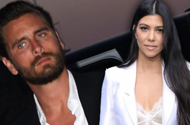 kourtney kardashian scott disick feud custody arrangement partying binge