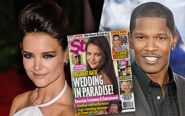 Jamie Foxx Katie Holmes Wedding Secrets Relationship Cheating Scandal Pics 5
