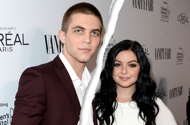 laurent claude gaudette ariel winter break up split kim kardashian meme