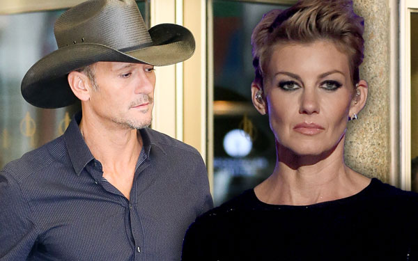 Tim McGraw Faith Hill Divorce Marriage Problems United Front Pics 2