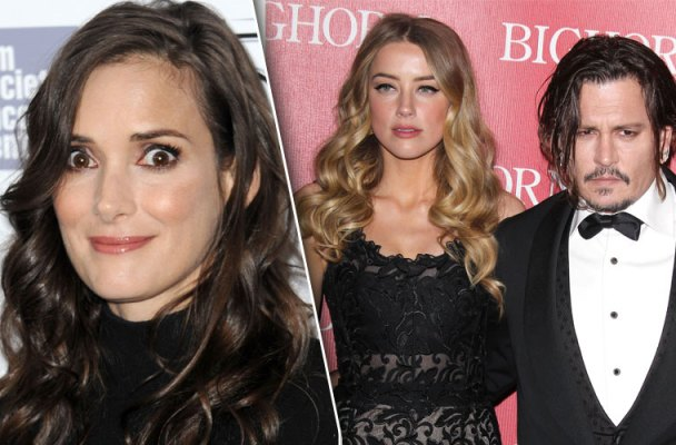 winona ryder defends ex fiance johnny depp amber heard domestic abuse allegations