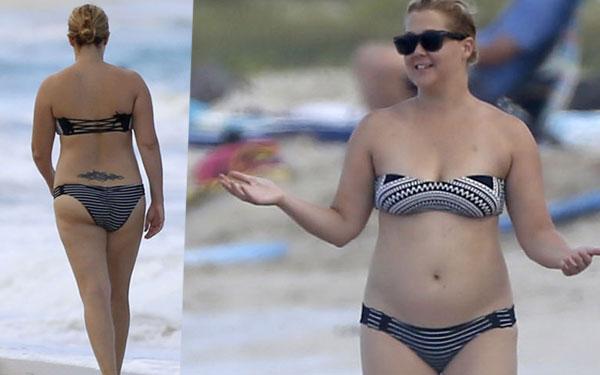 Amy Schumer Bikini Naked Hawaii Pics 8