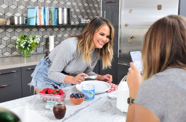 -Los Angeles, CA - 7/6/2016- Chrissy Teigen Demonstrates her Favorite Vita Coco Coconut Oil Culinary and Beauty Uses -PICTURED: Chrissy Teigen -PHOTO by: Michael Simon/startraksphoto.com -MS327656  Editorial - Rights Managed Image - Please contact www.startraksphoto.com for licensing fee Startraks Photo New York, NY For licensing please call 212-414-9464 or email sales@startraksphoto.com Image may not be published in any way that is or might be deemed defamatory, libelous, pornographic, or obscene. Please consult our sales department for any clarification or question you may have. Startraks Photo reserves the right to pursue unauthorized users of this image. If you violate our intellectual property you may be liable for actual damages, loss of income, and profits you derive from the use of this image, and where appropriate, the cost of collection and/or statutory damages.