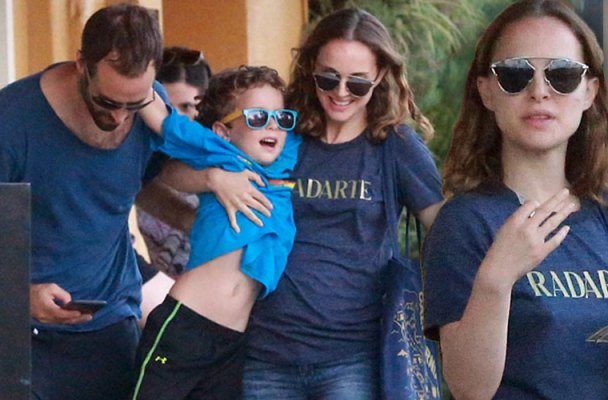 Natalie Portman Pregnant Baby Bump Rumors Marriage Problems Pics 5