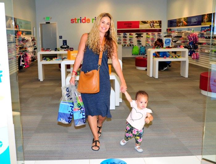 CaCee Cobb Hits Stride Rite For Back to School Shoe Shopping