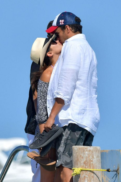 *EXCLUSIVE* Is she pregnant?? Sara Sampaio curiously holds her tummy with Oliver Ripley