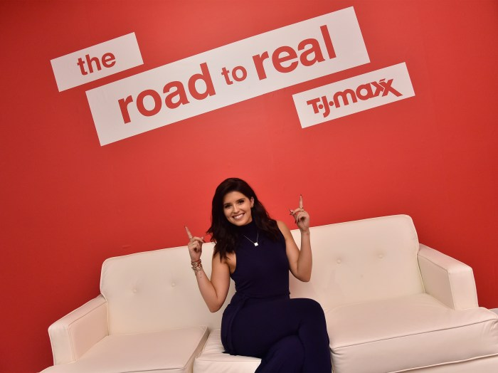 Katherine Schwarzenegger attends the T.J.Maxx Road to Real Gallery Exhibit in NYC, spotlighting inspirational women from across the country
