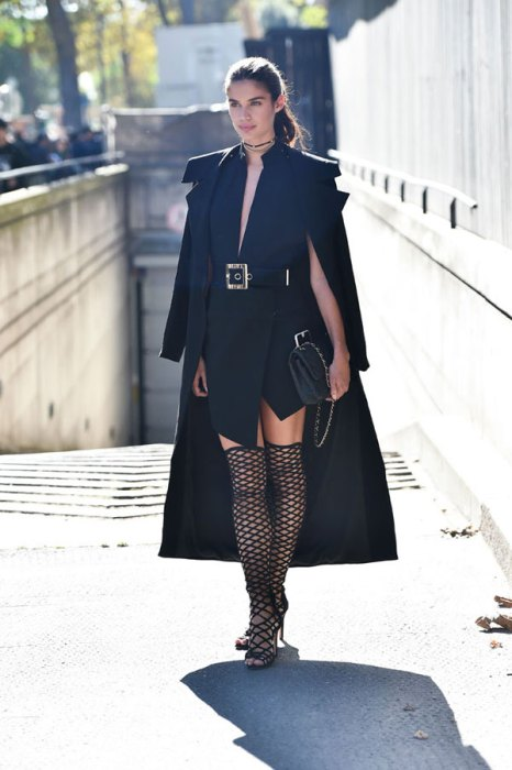 Celebrity Sightings : Day Nine - Paris Fashion Week Spring/Summer2017