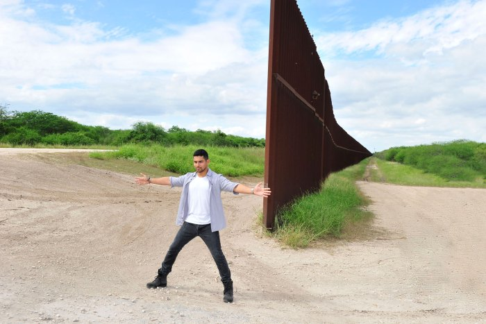 Wilmer Valderrama at US-Mexico Border In Support of Johnnie Walker`s Keep Walking America campaign