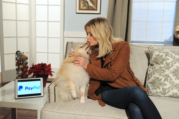 Actress Ashley Benson Joined PayPal on#GivingTuesday