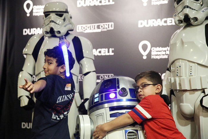 Duracell Powers Imaginations with Star Wars and Children'sMirac