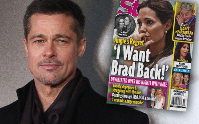 Brad Pitt Angelina Jolie Divorce Custody Battle Depressed 1