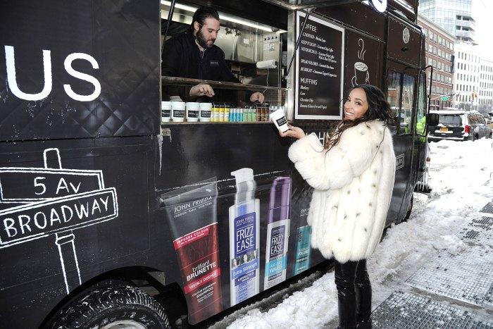 Tinashe serves up John Frieda Hair Care`s newest campaign #HairTalksinNYC.
