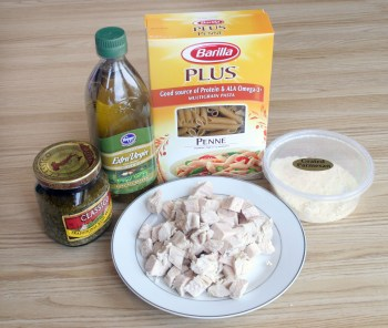 Chicken Pesto Pasta Ingredients