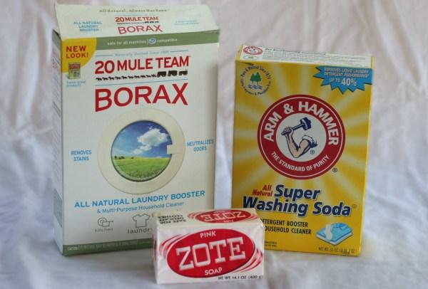 diy laundry soap ingredients
