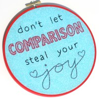 Comparison Embroiery