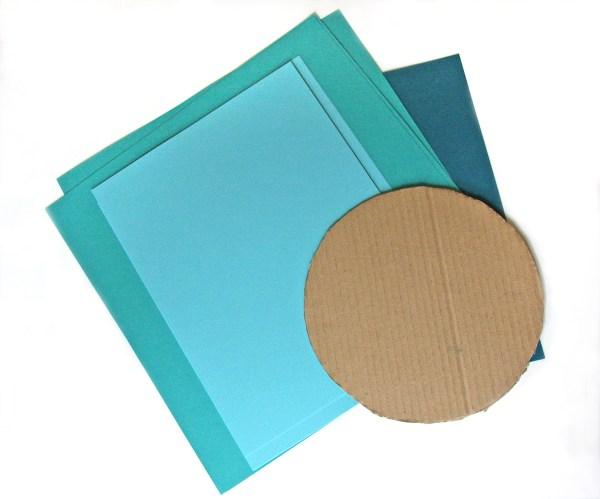 Paper Dahlia Supplies