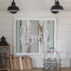 New Handwritten Word Cutouts Are Here Start at Home Decor