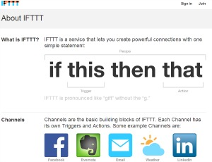 ifttt If this then that