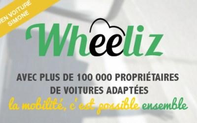 Wheeliz – La plateforme de location entre particuliers de véhicules adaptés aux personnes à mobilité réduite.
