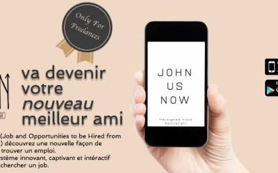 JOHN : Découvrez une nouvelle façon de rechercher et trouver une mission freelance.