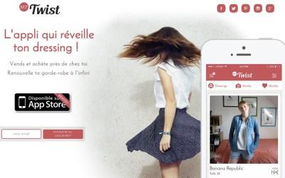 MyTwist : L'appli qui réveille  ton dressing !