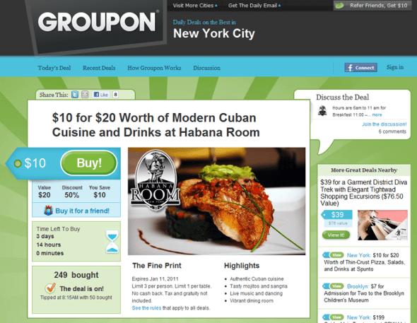 Groupon - Featured On StartUpLift