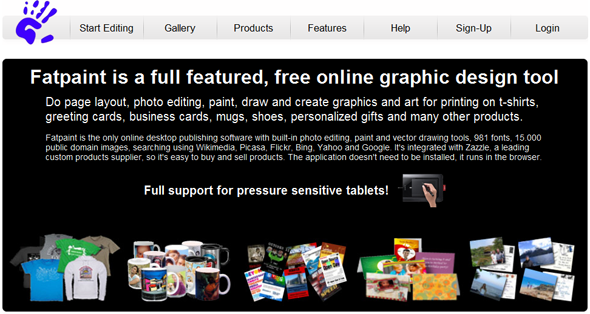 Fatpaint Online Graphics Design Software Startuplift