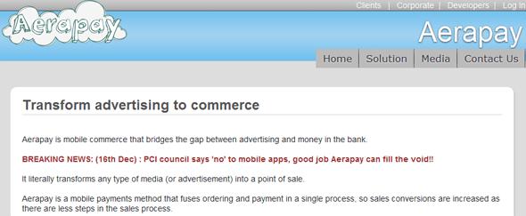 Aerapay - Featured on StartUpLift