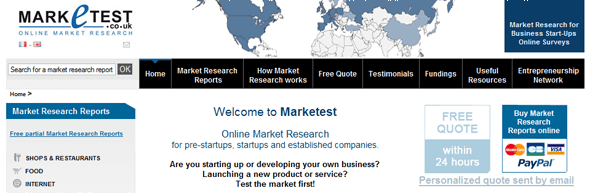 Mraketest - Market Research - Featured on StartUpLift