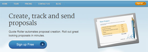 Quote Roller Awesome Way To Create And Send Proposals StartUpLift Enchanting Quote Roller