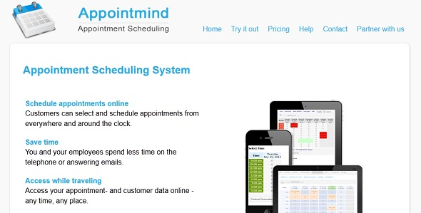 AppointMind - startup featured on StartUpLift for startup feedback and website feedback