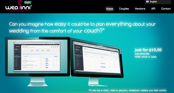wedjini - startup featured on startuplift for website feedback & startup feedback