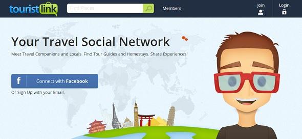 TouristLink - startup featured on StartUpLift for feedback