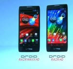 Motorola RAZR HD and RAZR MAXX HD
