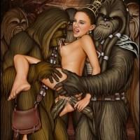 chewbaca and other wookies fucking princess admadala