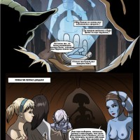 A Geonosian Incubation  - Aayla Secura with her Girlfriends in immense screw-jamboree trouble