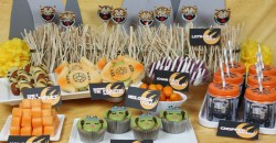 Alluring Rebels Party Table Spread Throwing A Star Wars Rebels Party Star Wars Party Food Star Wars Party Me